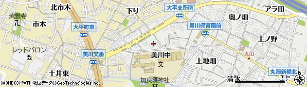 愛知県岡崎市丸山町(ハサマ)周辺の地図