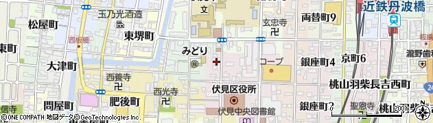 大黒寺周辺の地図