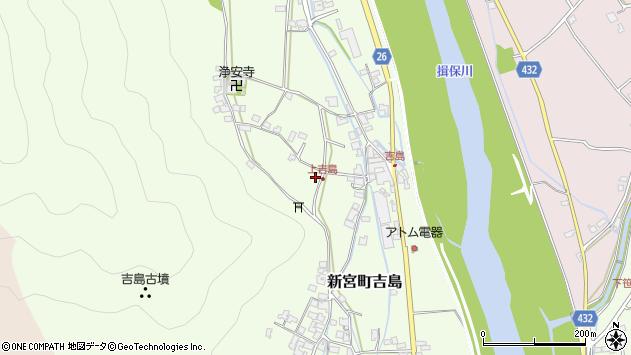 〒679-4305 兵庫県たつの市新宮町吉島の地図