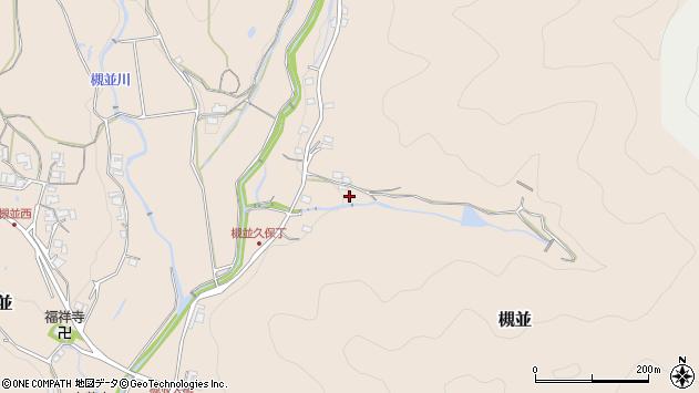 〒666-0222 兵庫県川辺郡猪名川町槻並の地図