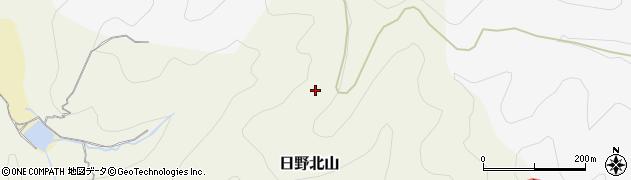 京都府京都市伏見区日野北山周辺の地図