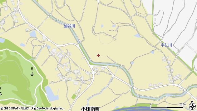 〒675-2403 兵庫県加西市小印南町の地図
