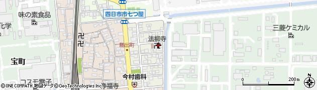 法柳寺周辺の地図