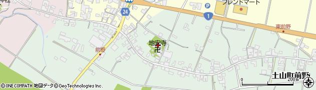 地安寺周辺の地図
