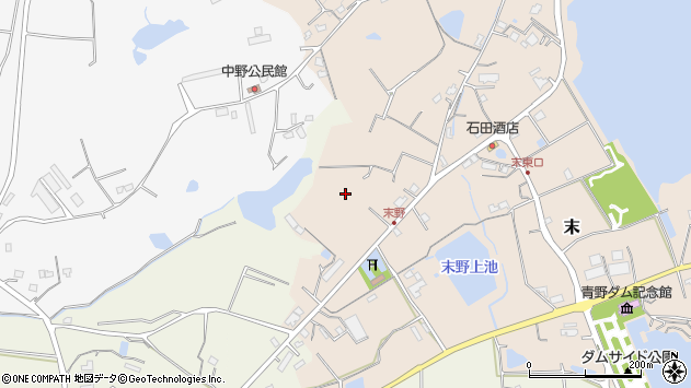 〒669-1303 兵庫県三田市末の地図