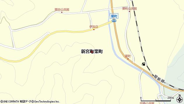 〒679-5155 兵庫県たつの市新宮町栗町の地図
