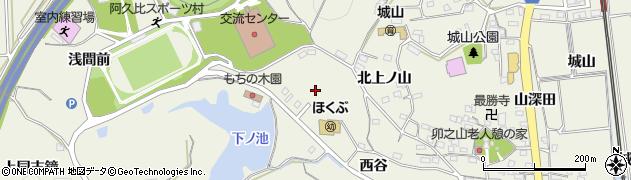 愛知県知多郡阿久比町卯坂姥ケ谷周辺の地図