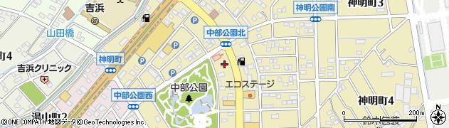濱久周辺の地図