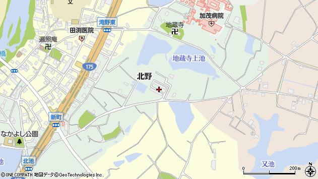 〒679-0207 兵庫県加東市滝野団地の地図