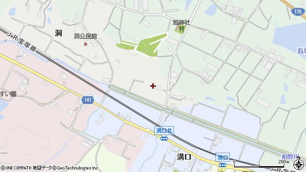 〒669-1343 兵庫県三田市洞の地図