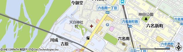 楽屋周辺の地図
