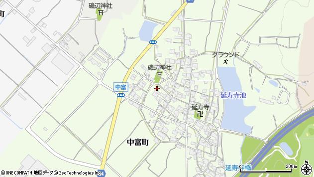 〒675-2442 兵庫県加西市中富町の地図