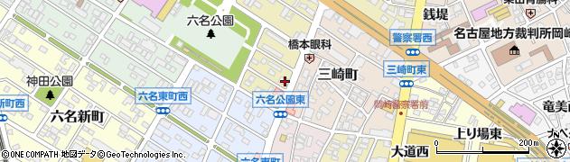 花厘周辺の地図