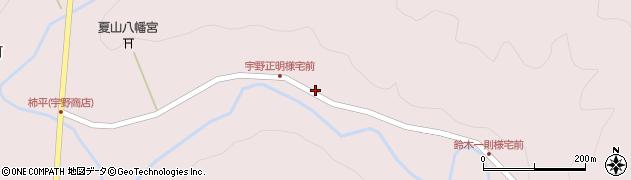 愛知県岡崎市夏山町(陳内)周辺の地図
