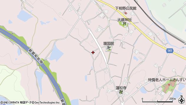 〒669-1345 兵庫県三田市下相野の地図