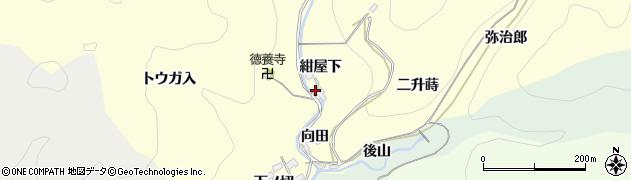 愛知県岡崎市蓬生町(紺屋下)周辺の地図
