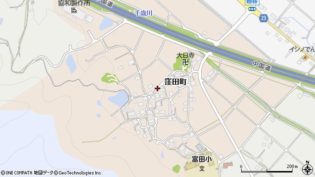 〒675-2364 兵庫県加西市窪田町の地図