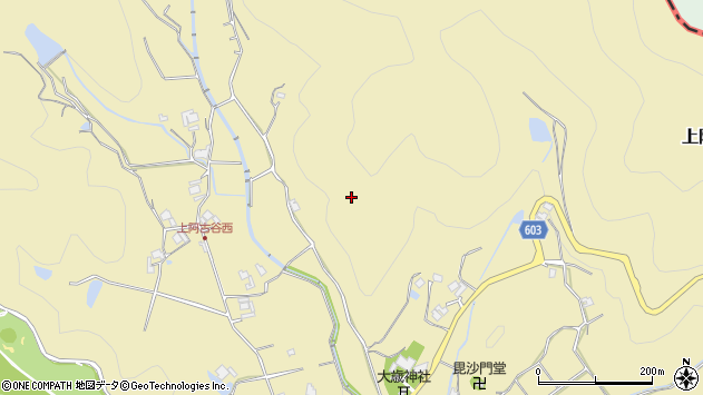 〒666-0231 兵庫県川辺郡猪名川町上阿古谷の地図
