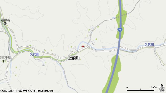 〒697-0005 島根県浜田市上府町の地図