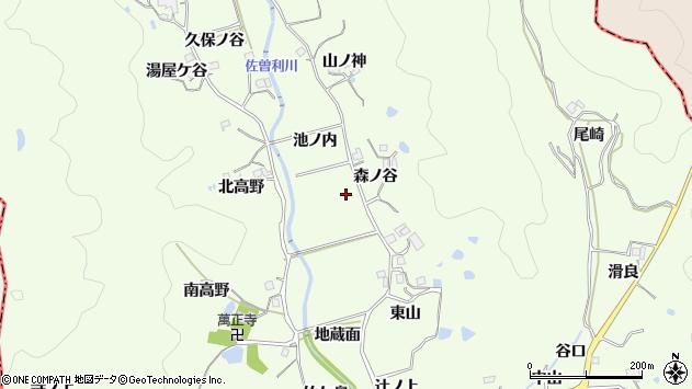 〒669-1202 兵庫県宝塚市上佐曽利の地図