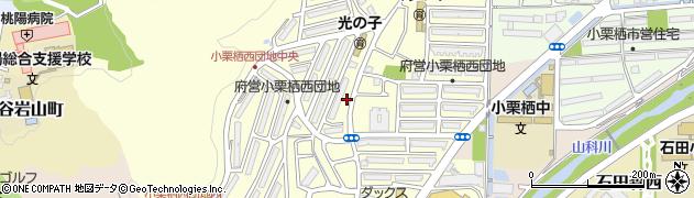 府営小栗栖西団地周辺の地図