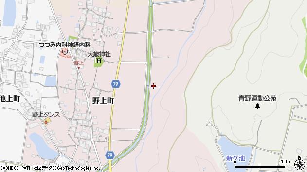 〒675-2424 兵庫県加西市野上町の地図