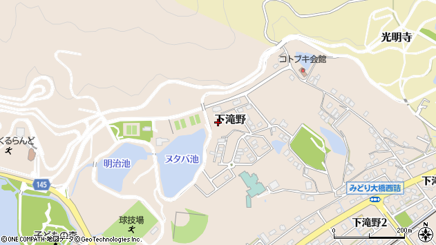 〒679-0212 兵庫県加東市下滝野の地図