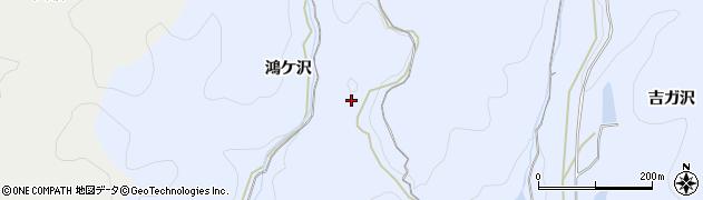愛知県岡崎市小美町(鴻ケ沢)周辺の地図