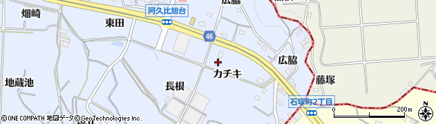 ぎゅうまる周辺の地図