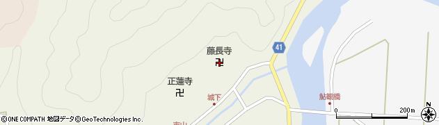 藤長寺周辺の地図