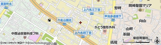 スナックささ周辺の地図
