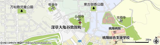 仏国寺周辺の地図