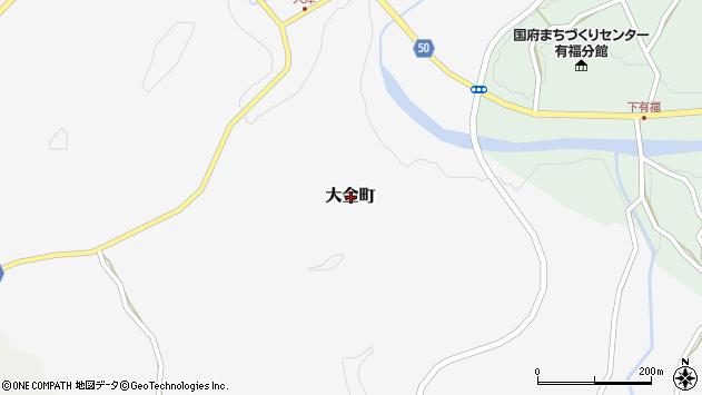 〒695-0103 島根県浜田市大金町の地図