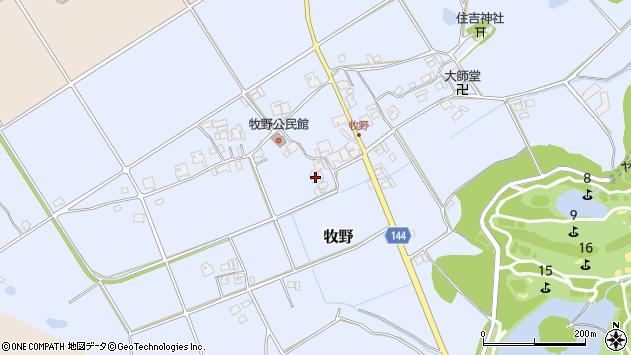 〒673-1474 兵庫県加東市牧野の地図