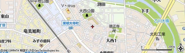 ジャムステーキハウス周辺の地図