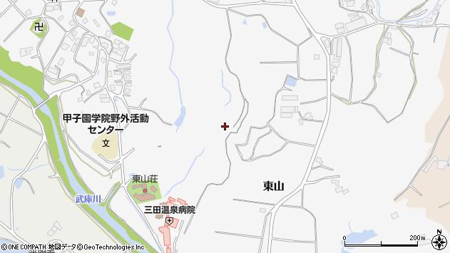 〒669-1353 兵庫県三田市東山の地図