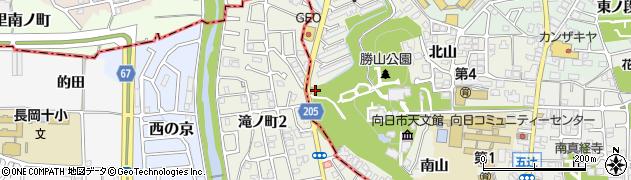 増井神社周辺の地図