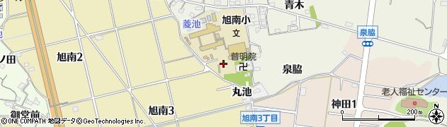 愛知県知多市金沢(向山)周辺の地図