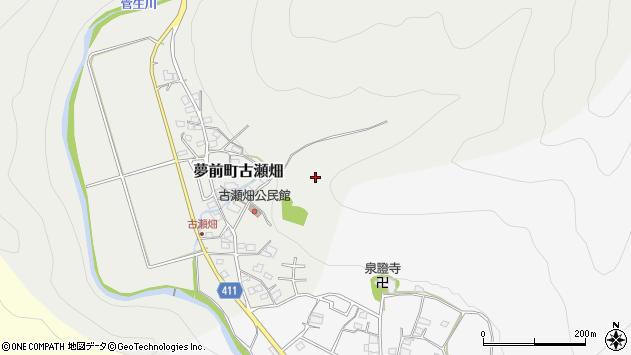 〒671-2132 兵庫県姫路市夢前町古瀬畑の地図