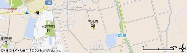 円林寺周辺の地図