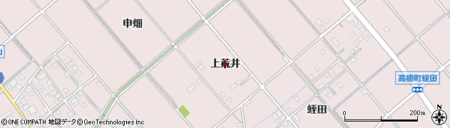 愛知県安城市高棚町(上荒井)周辺の地図