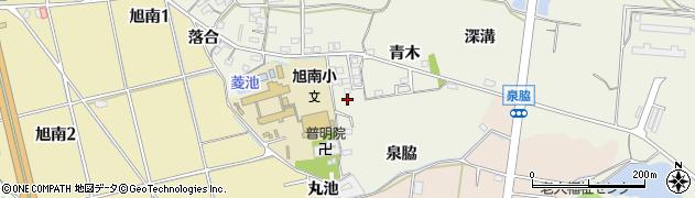愛知県知多市金沢(廻間)周辺の地図