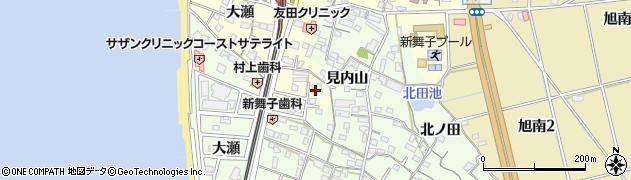 愛知県知多市大草(大瀬)周辺の地図