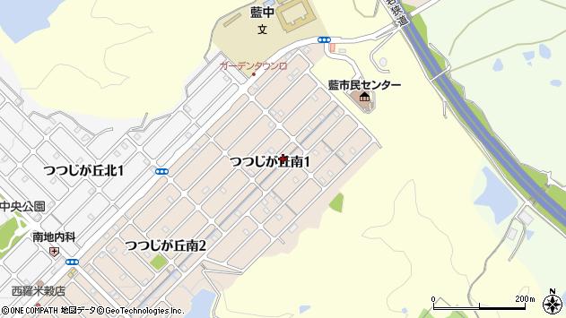 〒669-1347 兵庫県三田市つつじが丘南の地図