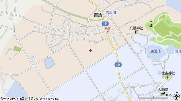 〒673-1475 兵庫県加東市吉馬の地図