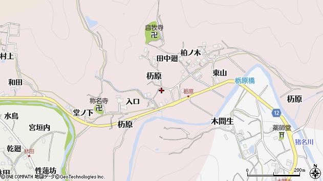 〒666-0221 兵庫県川辺郡猪名川町杤原の地図