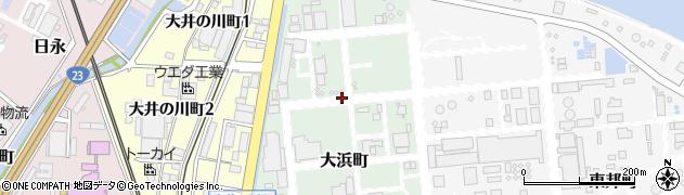 三重県四日市市大浜町周辺の地図