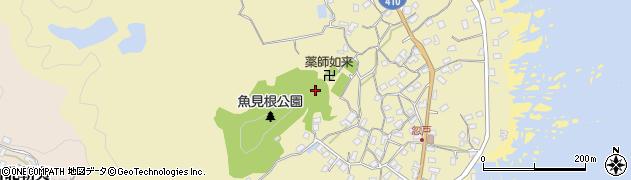千葉県南房総市千倉町忽戸周辺の地図