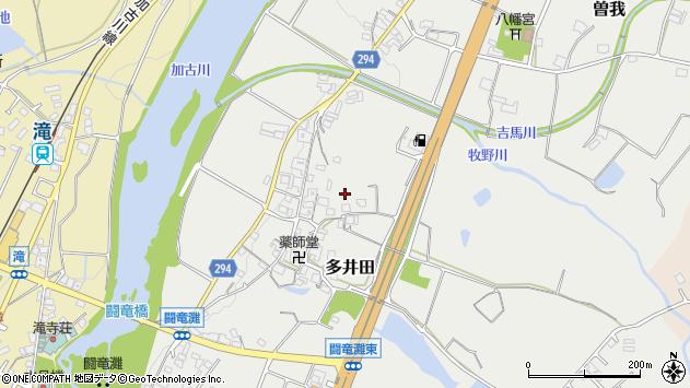 〒679-0202 兵庫県加東市多井田の地図