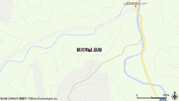 〒679-5162 兵庫県たつの市新宮町上莇原の地図